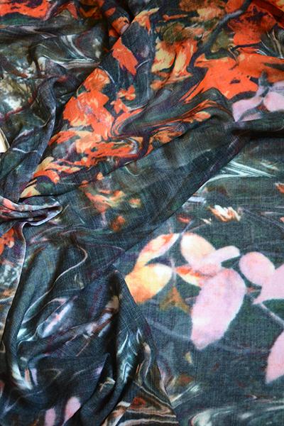 wollen shawl Autumn