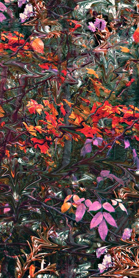 shawl autumn twill
