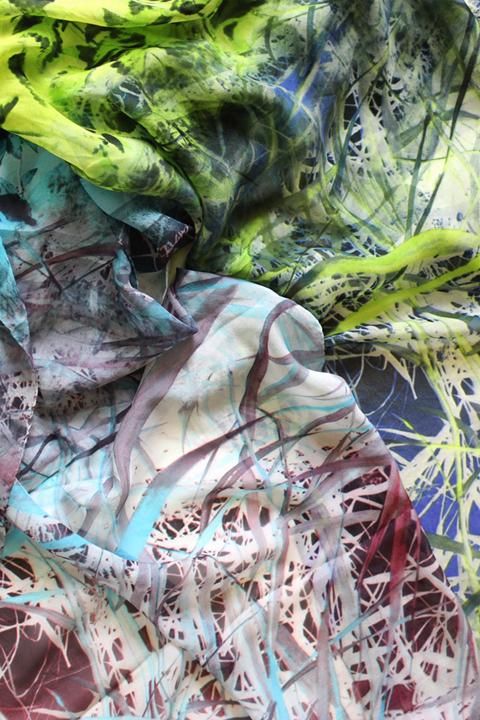 chiffonzijden shawls