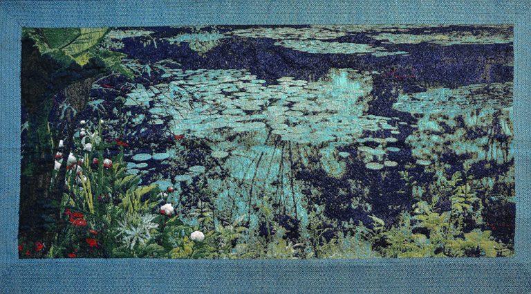 wandkleed Monet Night